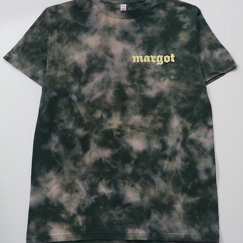 MARGOT x KFORREAL Bleach-dye Shop Tee, Forest Abstract