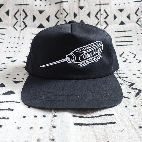 I.C.E.PICK Snapback Hat, Black