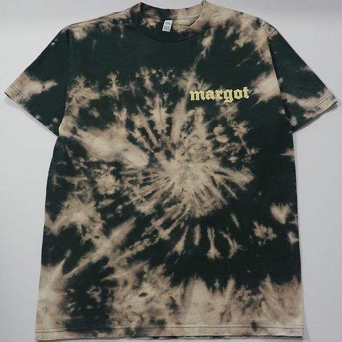 MARGOT x KFORREAL Bleach-dye Shop Tee, Forest Spiral