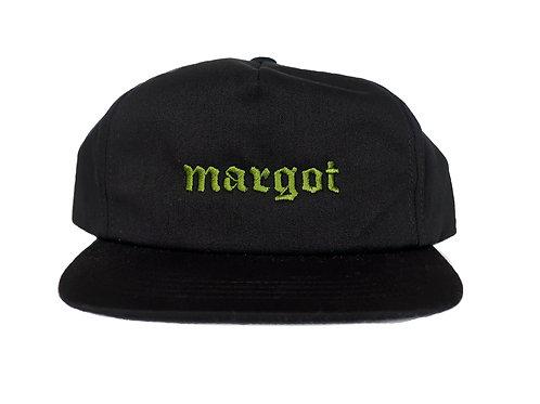 MARGOT- SS21 Logo Snapback, Black/Olive
