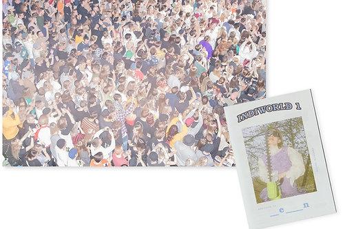 """""""Mästerbotten"""" Print av Ellen Nielsen (numrerat) + Indiworld #1"""