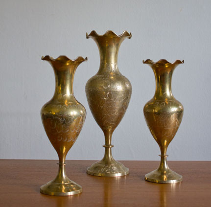 Brass Vases Assortment