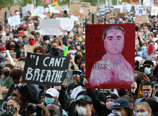 Powerful, peaceful and prayerful protests in New Jersey contrast the rest of the US