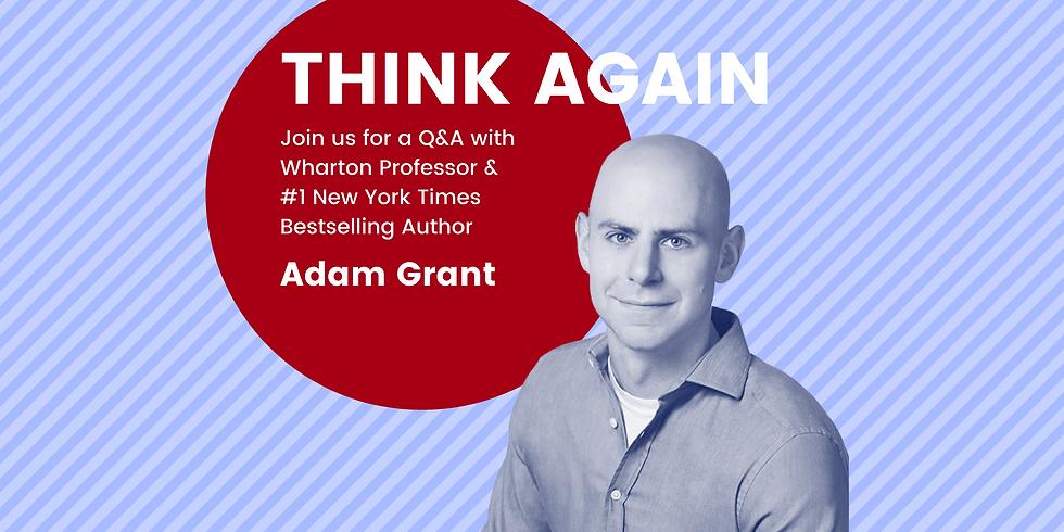 Q&A with Psychologist & Author Adam Grant
