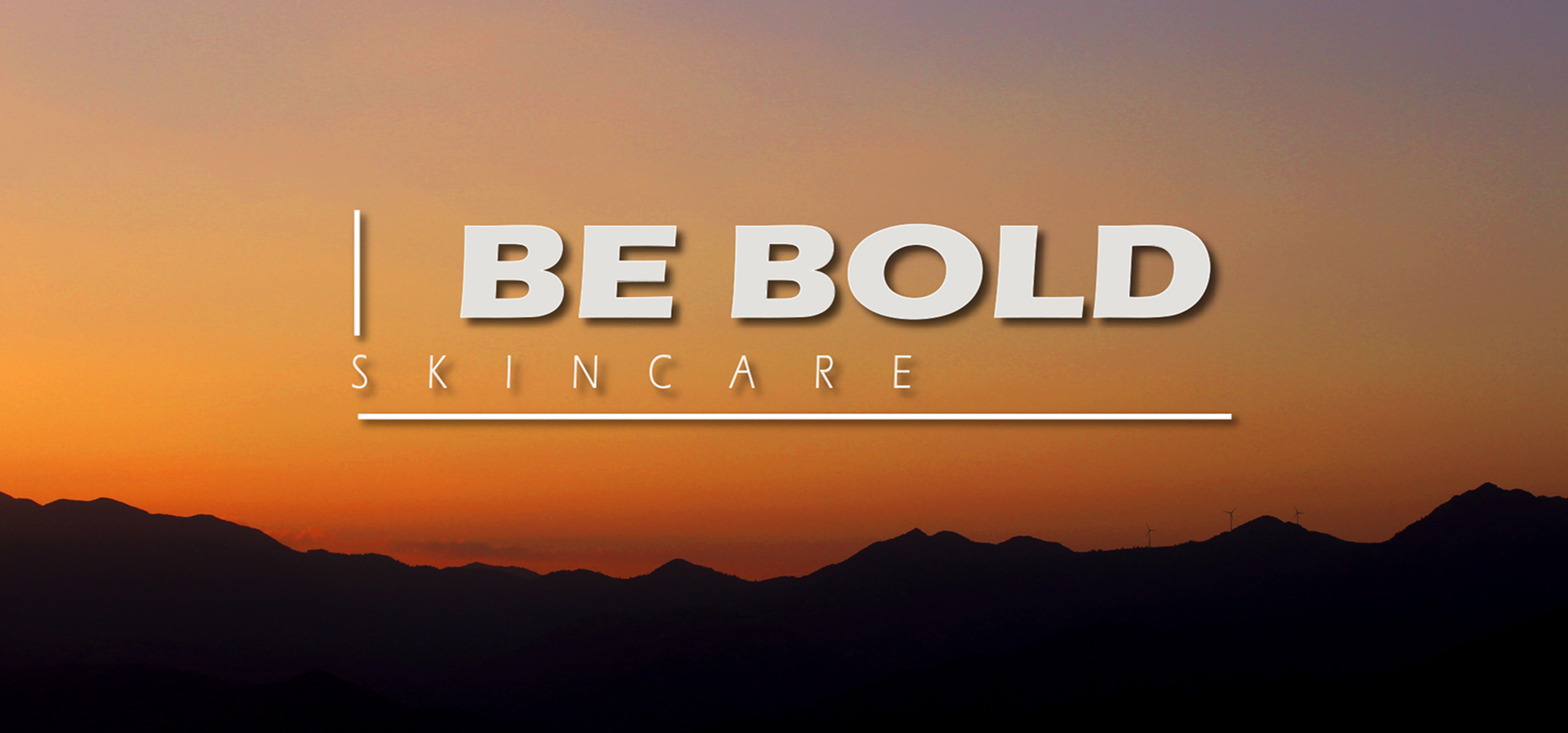 BE BOLD | SKIN CARE - logo design