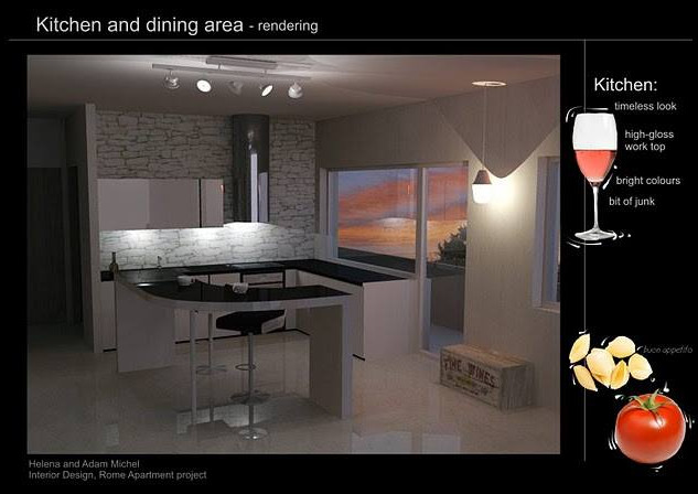 Apartmnet Living - Interior Design Proje