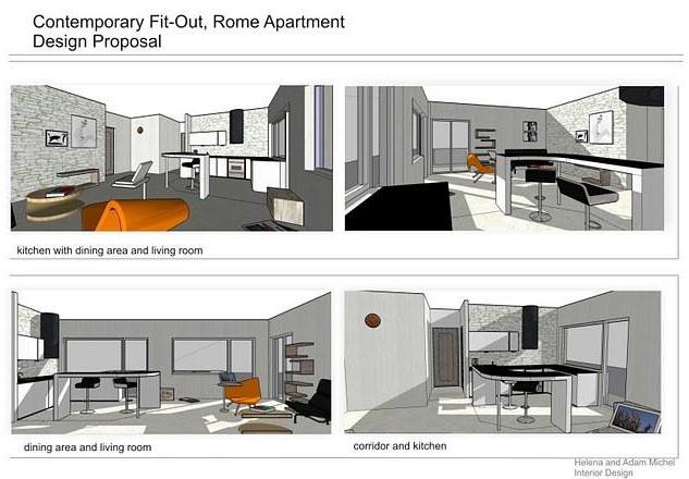 Apartment Living - Interior Design Proje