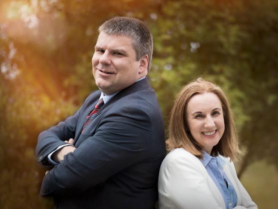 Colm Flynn and Anna Marie O'Dwyer