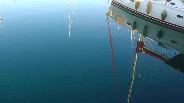 Luxury Yacht Reflection