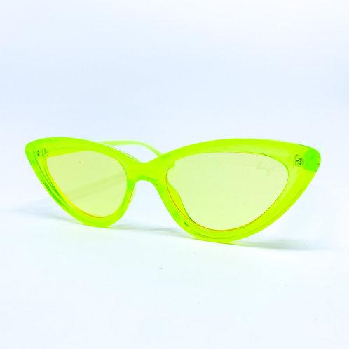 Lala Cat Neon Green