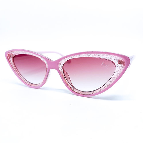 Lala Cat Pink Glitter