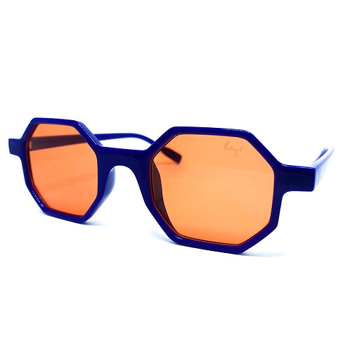 Quadry Blue/ Orange