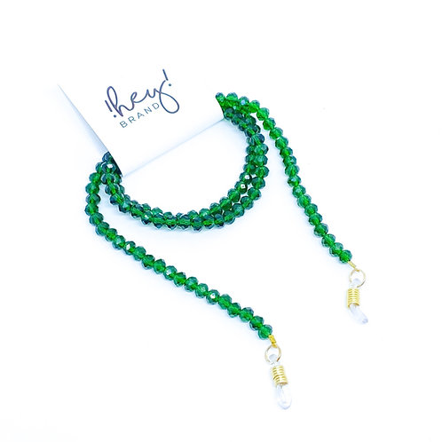 Cordinha Crystal Verde