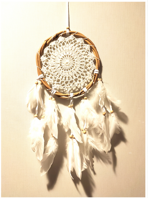 Atrapasueños plumas circular S
