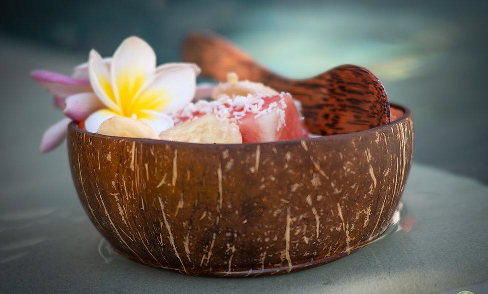 Bol en bois de coco / Coconut bowl