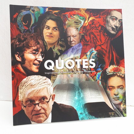 Quotes - Art book 2019 front cover