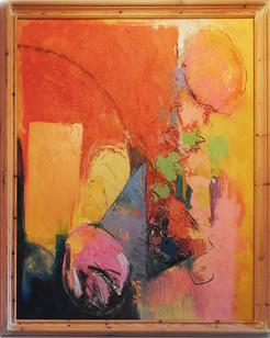 Lyras - Frank Barnes 2014 oil on canvas