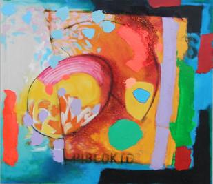 Piblokto 2015 acrylic on canvas 120x102cms