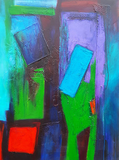 Sivad 76cmsW x 102cmsH acrylic on canvas