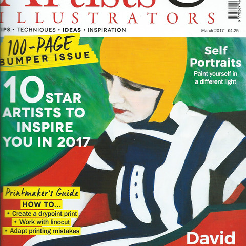 Artists & Illustrators March 2017
