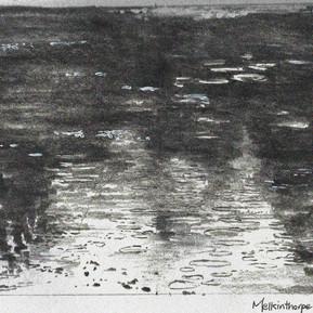 Melkinthorpe Pond 2 drawing