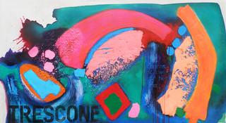 Trescone 2016  135x75cms acrylic on canvas