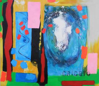 Criceto -  2015  118x102 cms  acrylic on canvas