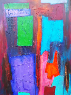 Selim 76x102 cms acrylic on canvas