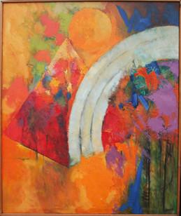 Luzon  2014 oil on canvas 90x120cms
