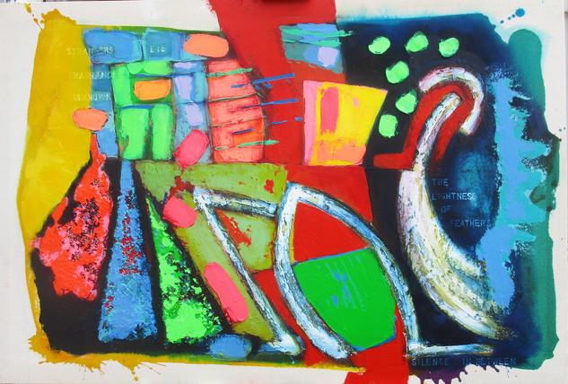 Spice Seller 2016 91x61cms acrylic on canvas