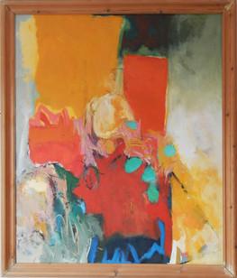 Kuku 2014 90x120cms oil on canvas