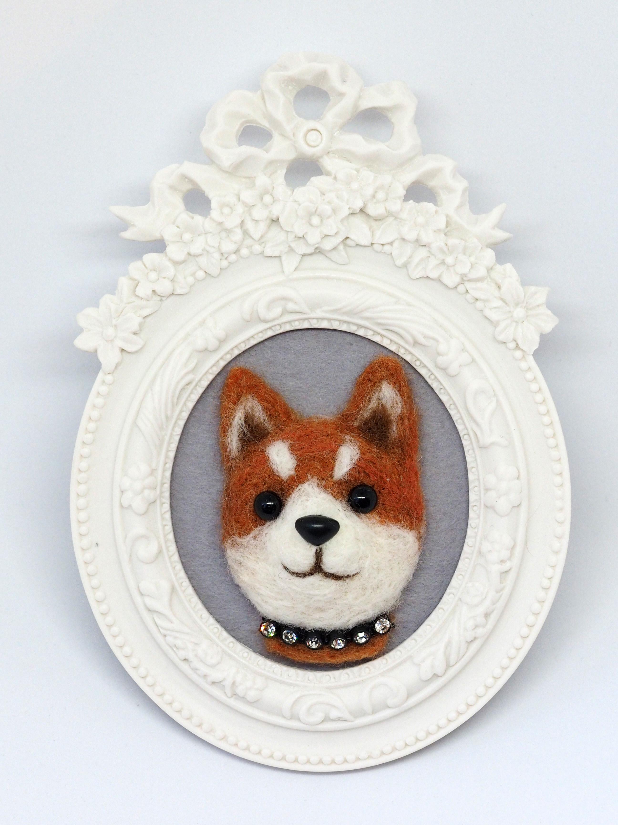 A動物チャーム/柴犬