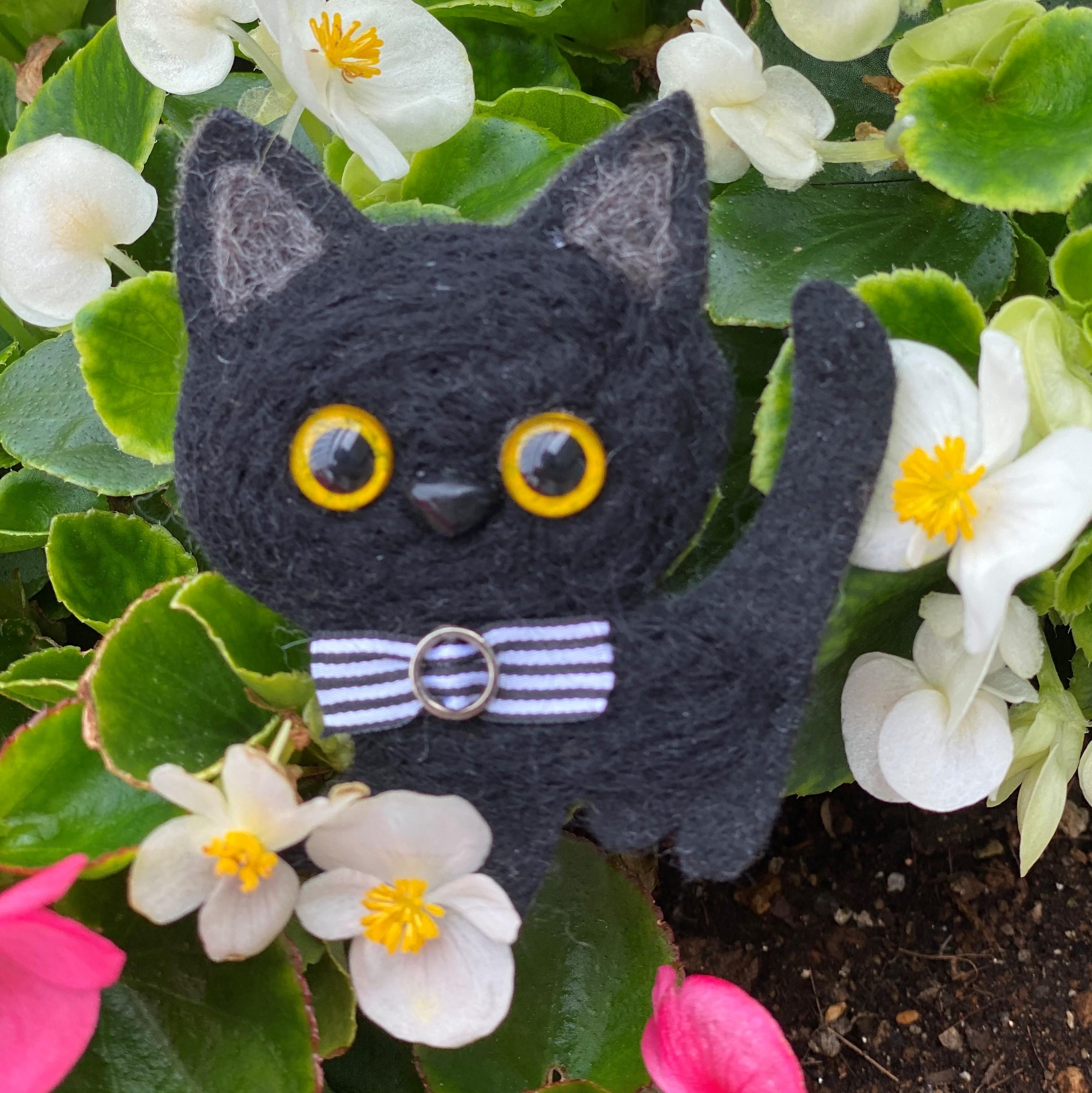 B動物チャーム/黒猫