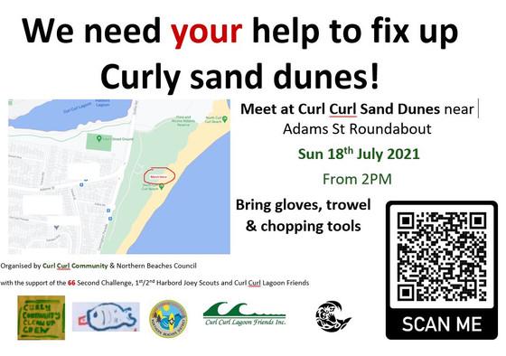 Restoring our sand dunes
