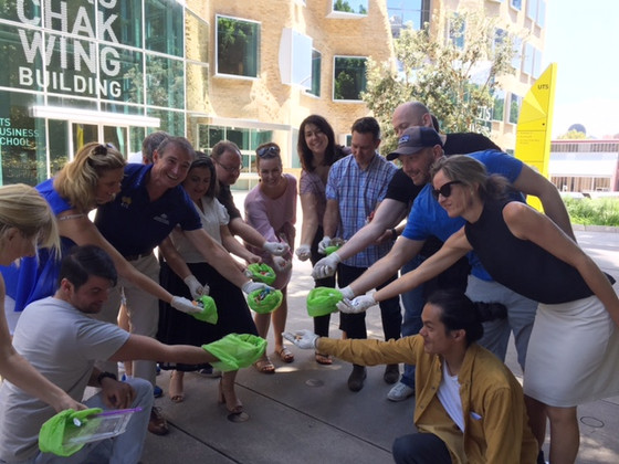 UTS EMBA takes the Challenge