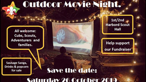 Movie Night - Save the Date - Sat 26 Oct 2019
