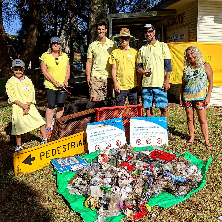 Clean up Australia Day - Curly Community Cleanup Crew