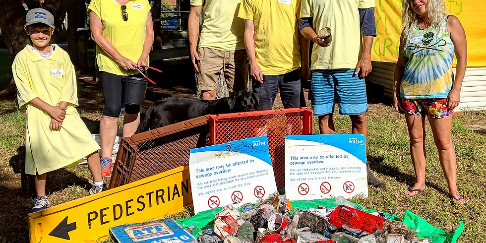 c2source - Curly Community Cleanup Crew - Cleanup Australia day (one day early)