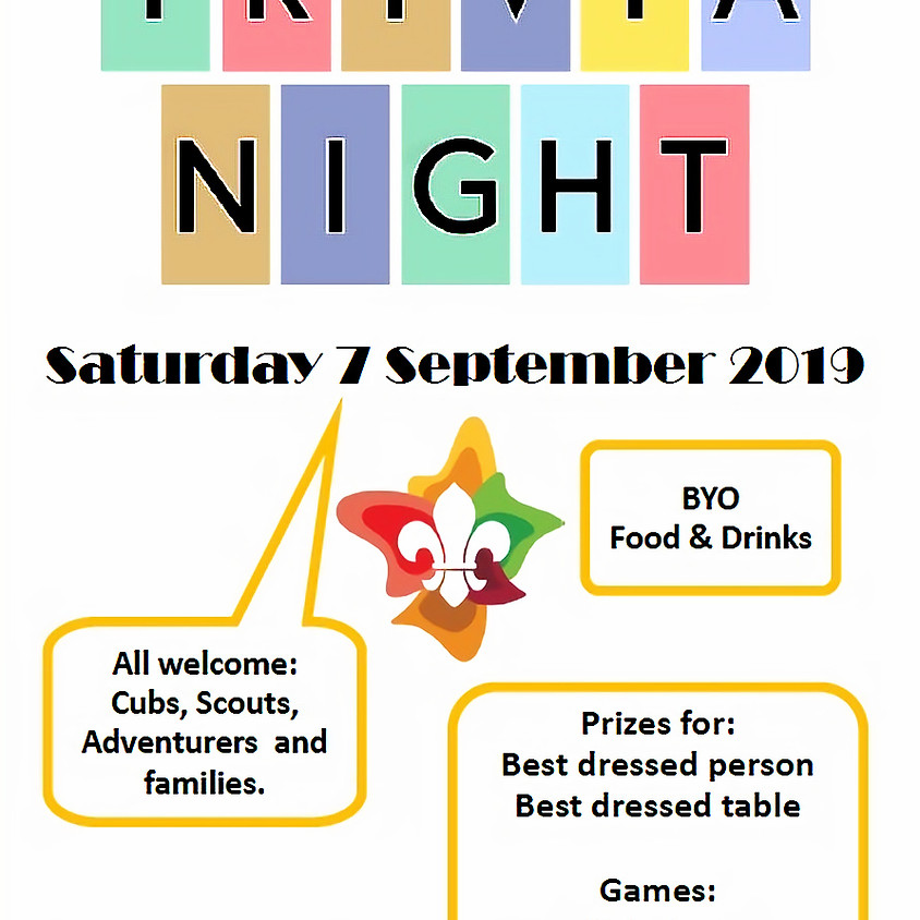 Family Trivia Night Sat 7th Sep 2019