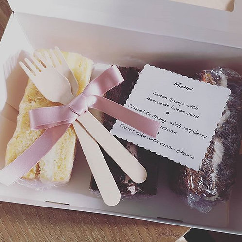 Wedding Cake Tasting Box