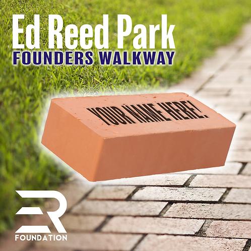 Custom Founders Walkway Brick
