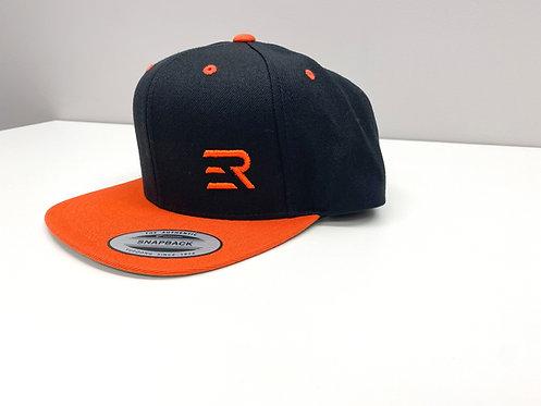 ER Orange & Black Hat