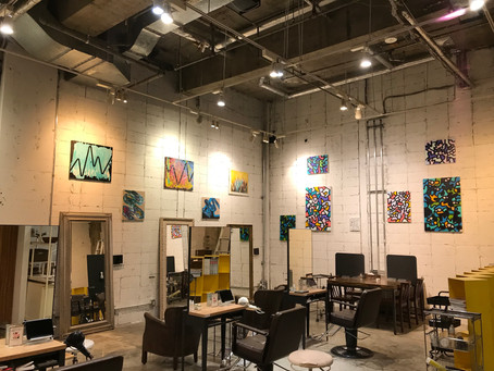 Solo Exhibition at NORA HAIR SALON