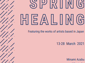Spring Healing, a fine art exhibition featuring artists based in Japan