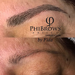 Phibrows-artist-Fida-fidare-kosmetik-bern-microblding
