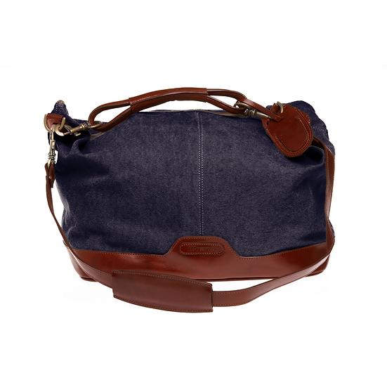 Bespoke Ladies Lavender Canvas Travel Bag