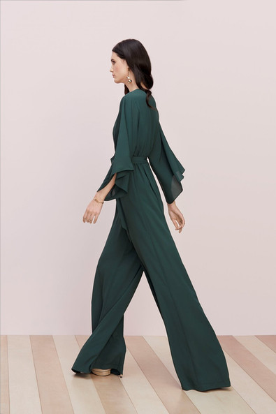 evergreen 'sawyer' maids jumpsuit