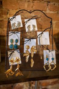 bold bridal earrings