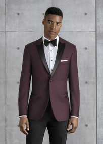 burgundy tux 201