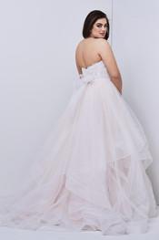 effie bridal skirt